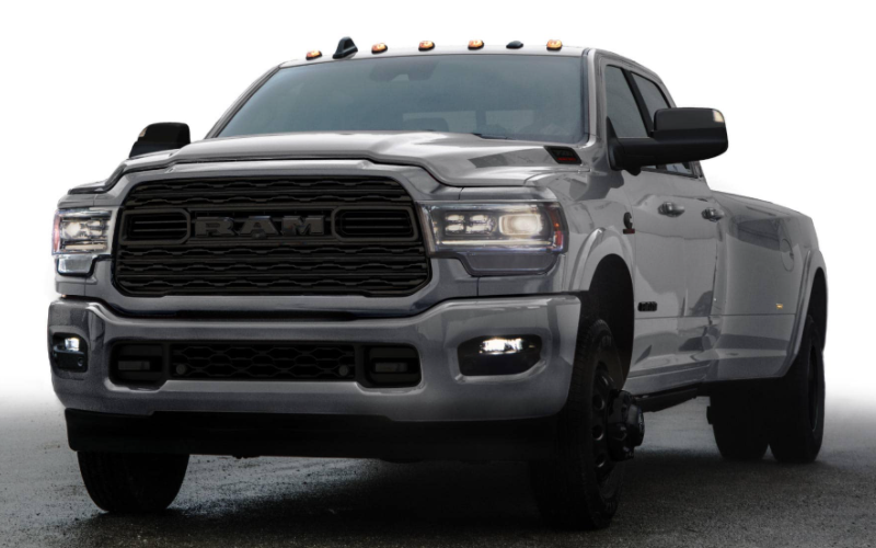 2021 Ram Heavy Duty Limited Night Edition Billet Silver Metallic