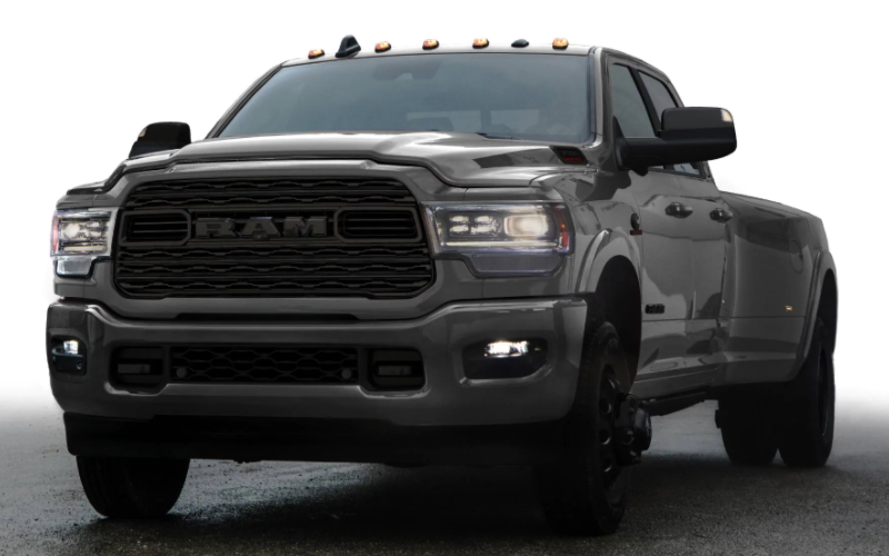 2021 Ram Heavy Duty Limited Night Edition Granite Crystal Metallic