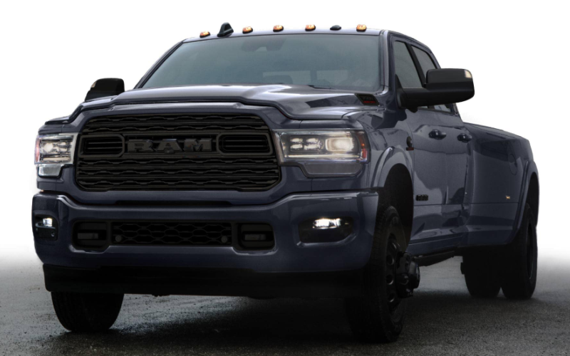 2021 Ram Heavy Duty Limited Night Edition Maximum Steel Metallic