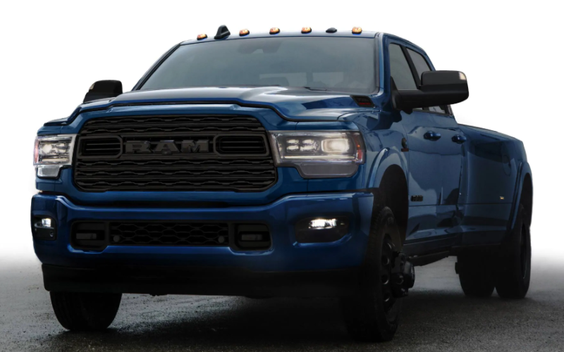 2021 Ram Heavy Duty Limited Night Edition Patriot Blue Pearl Coat