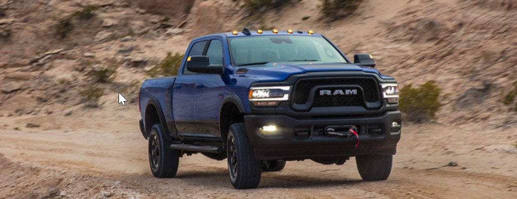 RAM 2500 and 3500 Heavy-Duty Pickup Truck Color Options