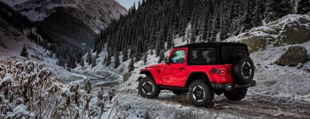 2021 Jeep Wrangler color red