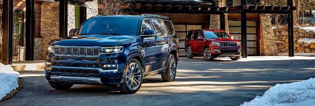 2022 Jeep Wagoneer & Grand Wagoneer Exterior Front Angles