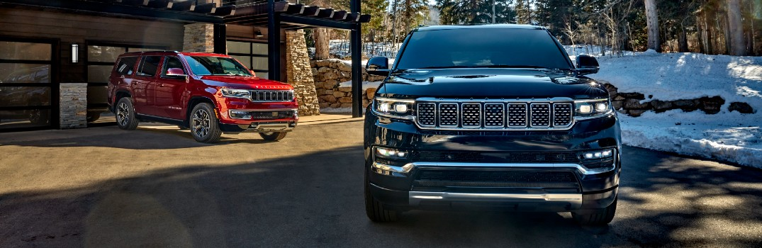 2022 Jeep Wagoneer Family Models, Trim Levels & Starting Price