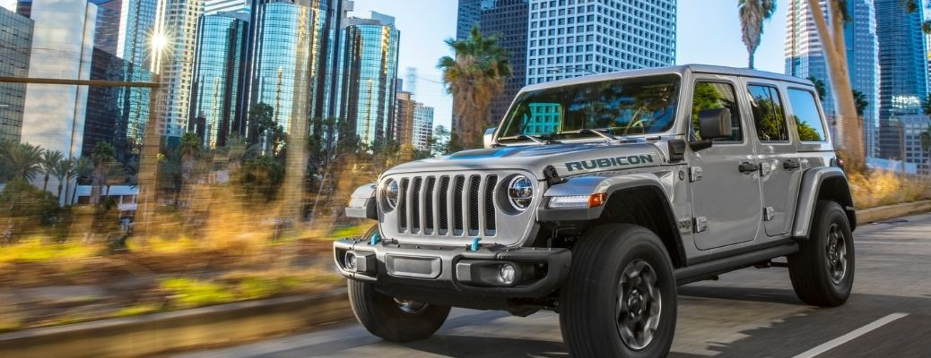 2021 Jeep Wrangler 4xe Engine Specifications and Features