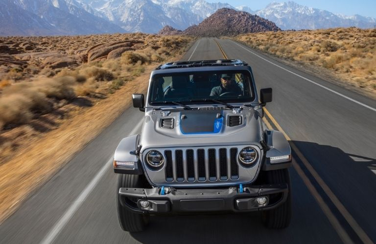 2021 Jeep Wrangler 4xe front view