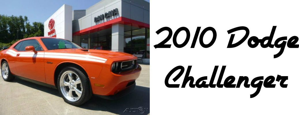 Used 2010 Dodge Challenger RT for sale
