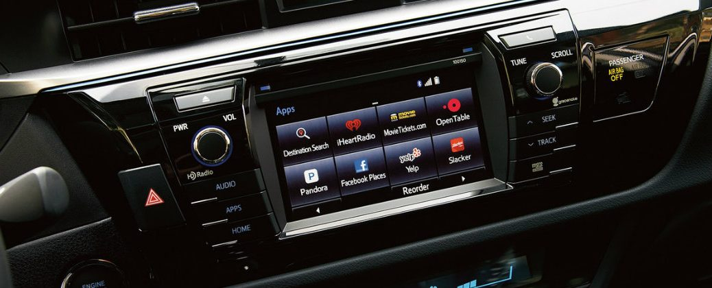 Differences Between Toyota Entune Audio Upgrade Levels