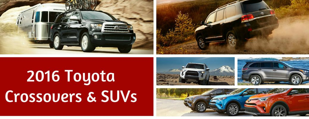 Differences Between Toyota SUVs and Crossovers