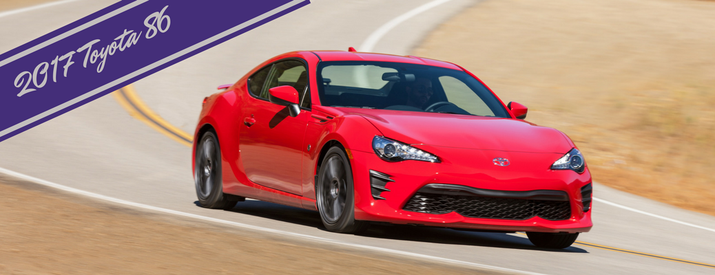 Who is the 2017 Toyota 86 for?