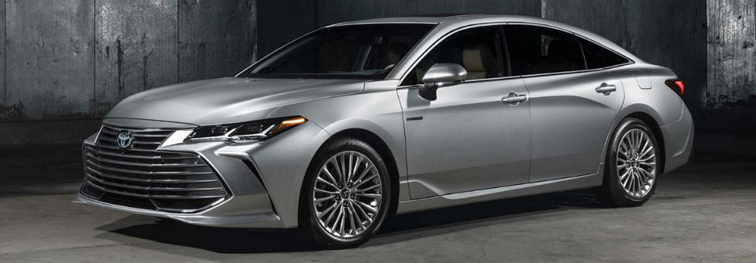 2019 Toyota Avalon Safety and Technology Features