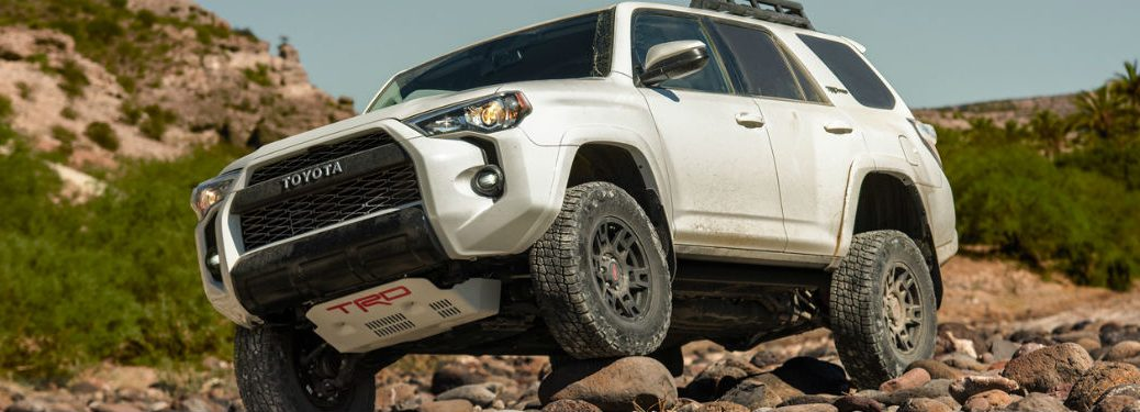 2019 Toyota 4Runner exterior front fascia and drivers side