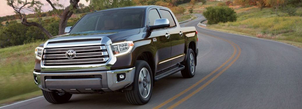 2019 Toyota Tundra exterior front fascia and drivers side