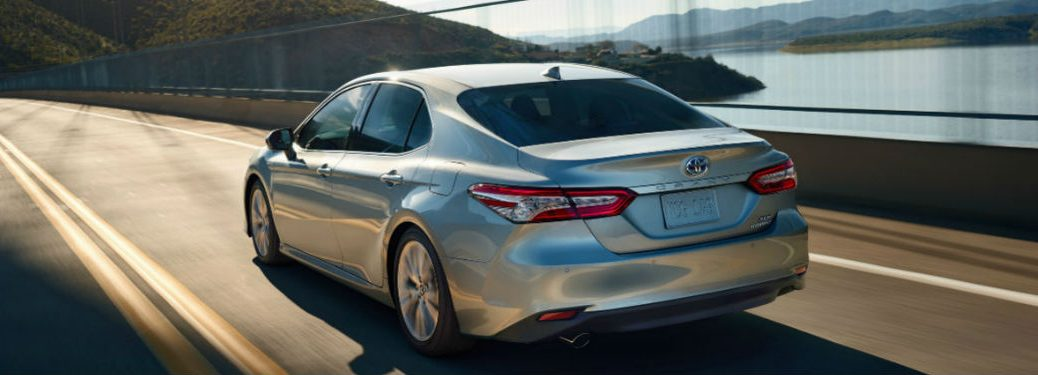 2020 Toyota Camry driving on a highway