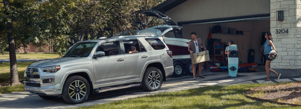 2020 Toyota 4Runner parked in a driveway