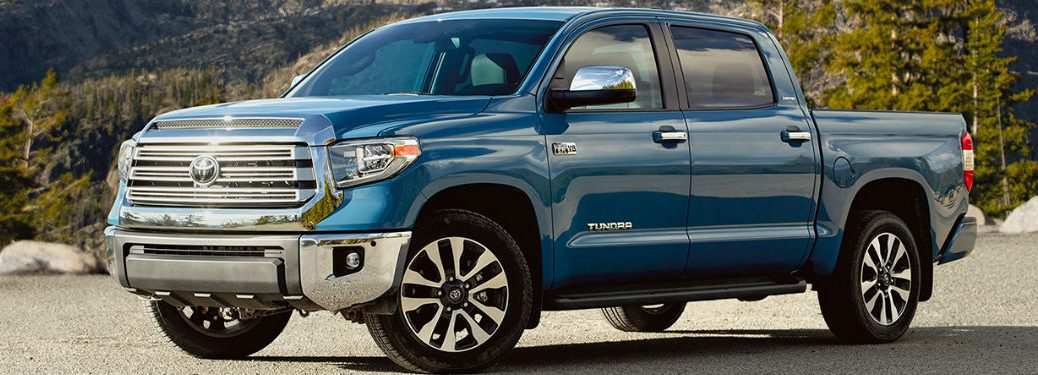 2020 Toyota Tundra front and side profile