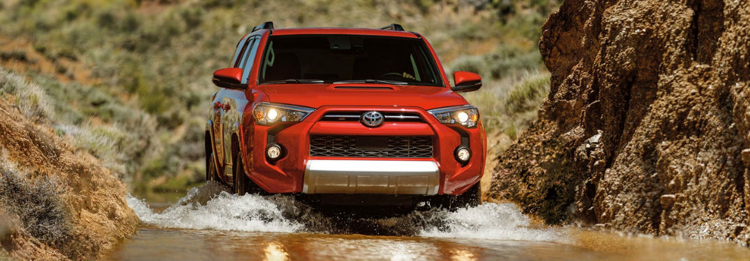 What color options are available when buying a new 2020 Toyota 4Runner?