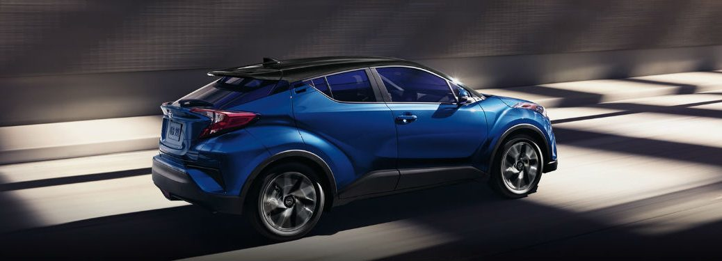 2020 Toyota C-HR driving on a road