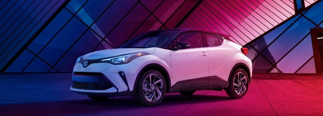 2020 Toyota C-HR front and side profile