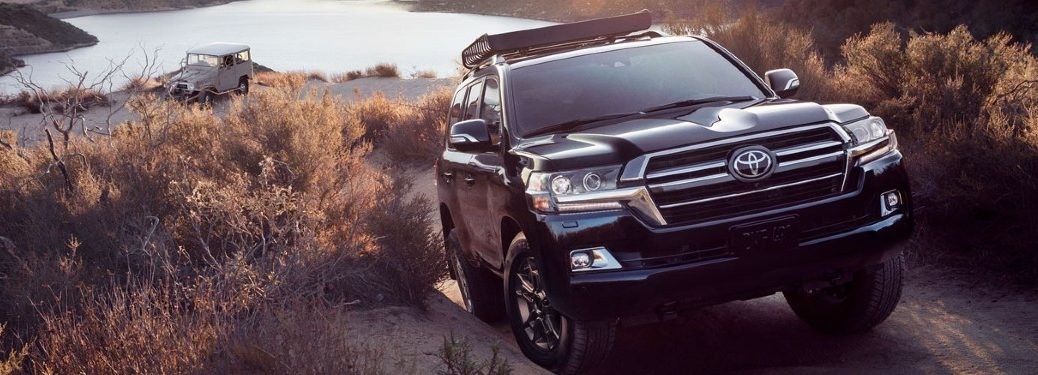 2020 Toyota Land Cruiser driving off-road
