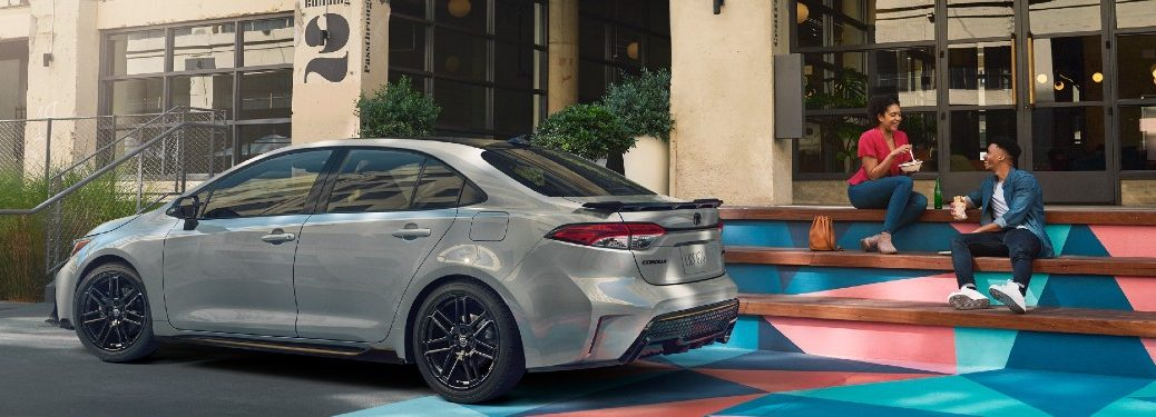 2021 Toyota Corolla parked on a street
