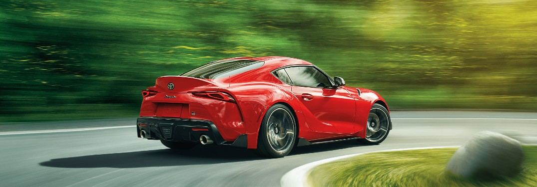 2021 Toyota GR Supra is available in 9 different paint color options