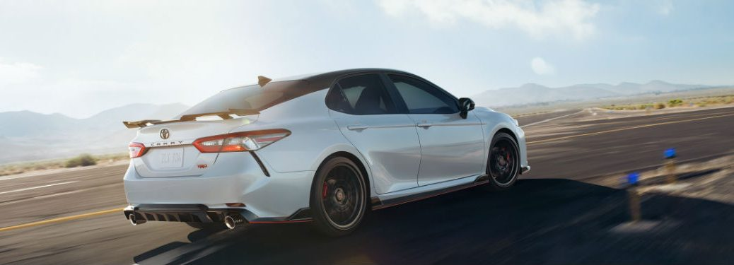 2020 Toyota Camry driving on a road