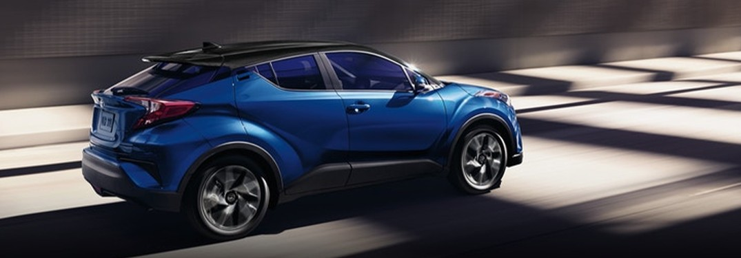 2021 Toyota C-HR beats the competition with an impressive list of interior features