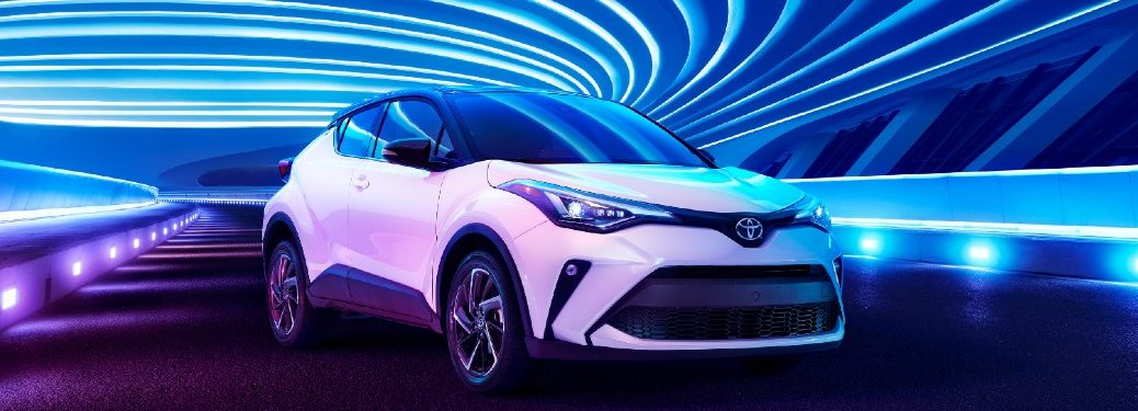 2021 Toyota C-HR front and side profile
