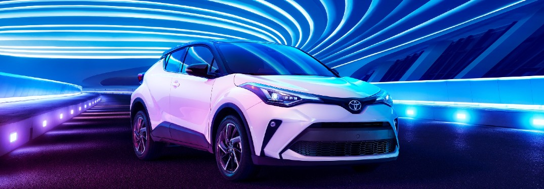 2021 Toyota C-HR is available in 12 exterior paint color options