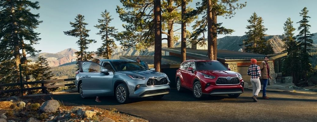 2021 Toyota Electrified SUVs along with their owners