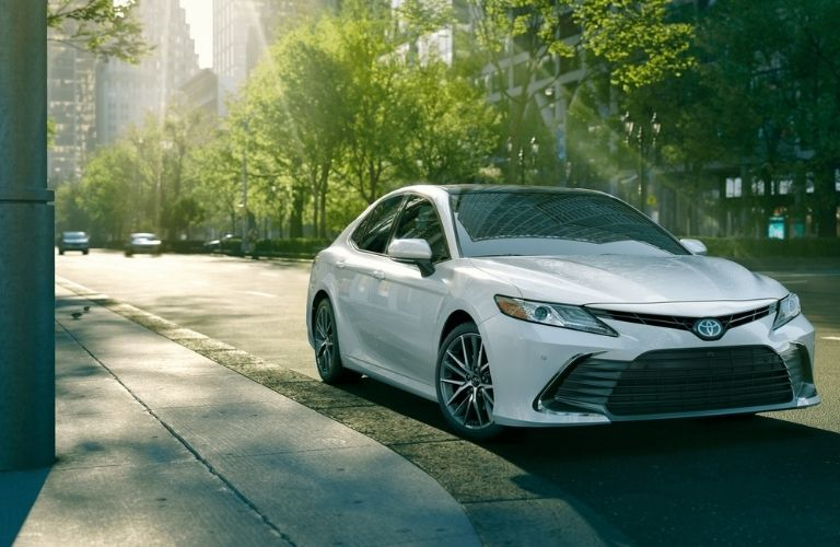 2021 Toyota Camry on Road
