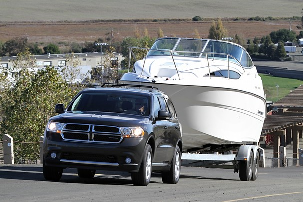2013 Dodge Durango towing
