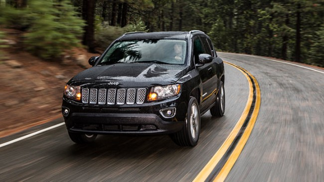 2014 Jeep Compass in Brilliant Black