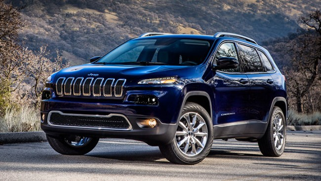 The 2014 Cherokee is available now at Palmen Motors!