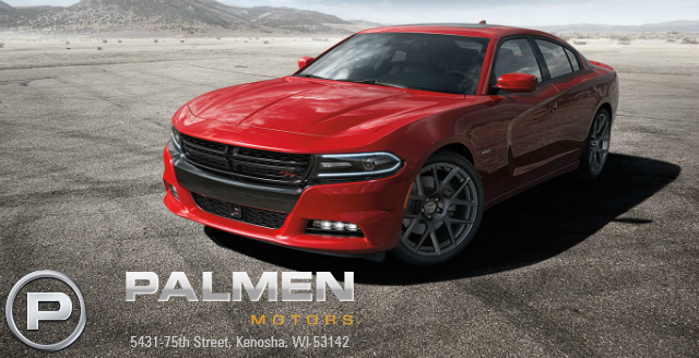 2015 Dodge Charger with the Hellcat engine