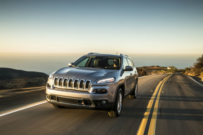 The 2015 Jeep Cherokee