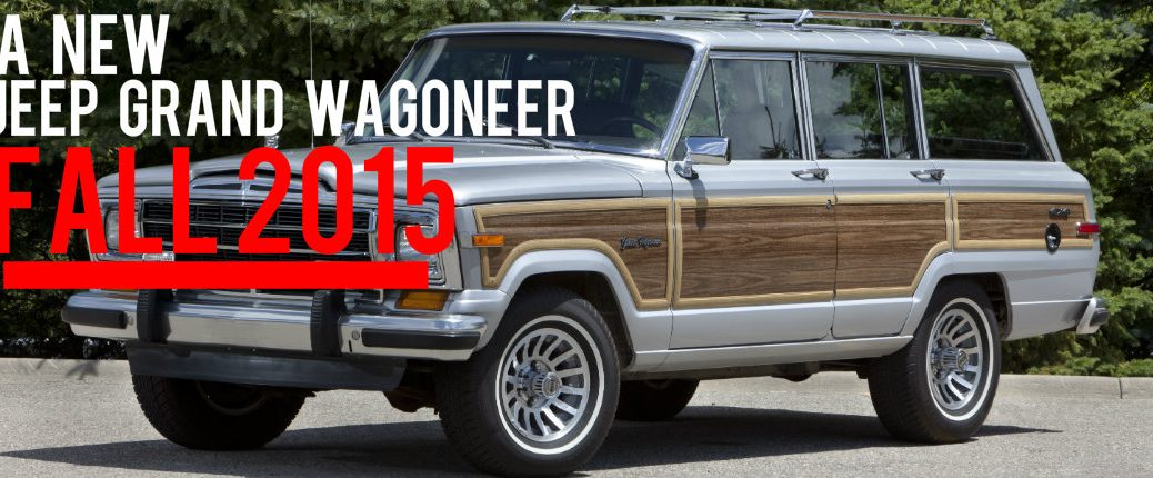 2018 Jeep grand Wagoneer Fall 2015 Las Vegas