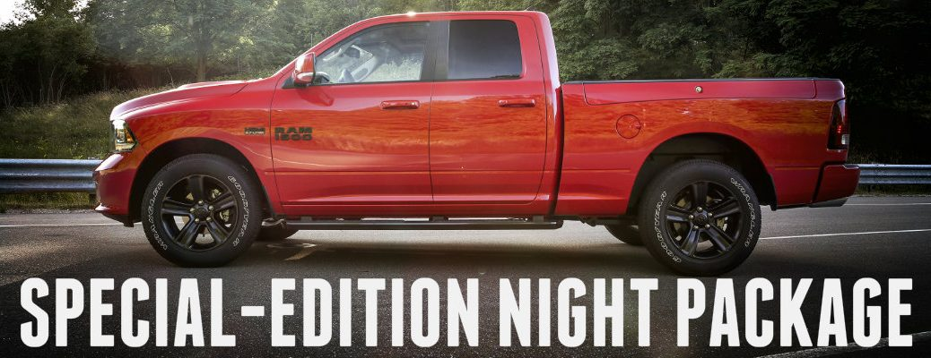Night package Special Edition 2017 Ram 1500