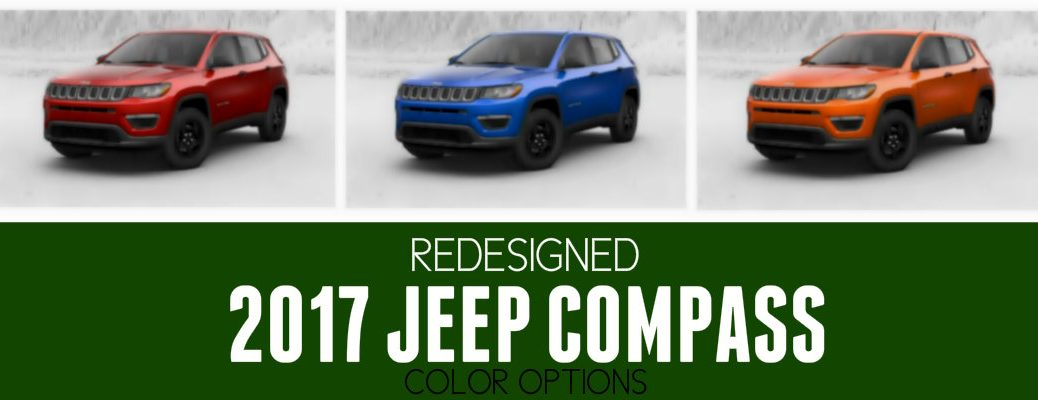 2017 Jeep Compass Color Options