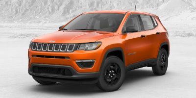 Jeep Compass Orange Color