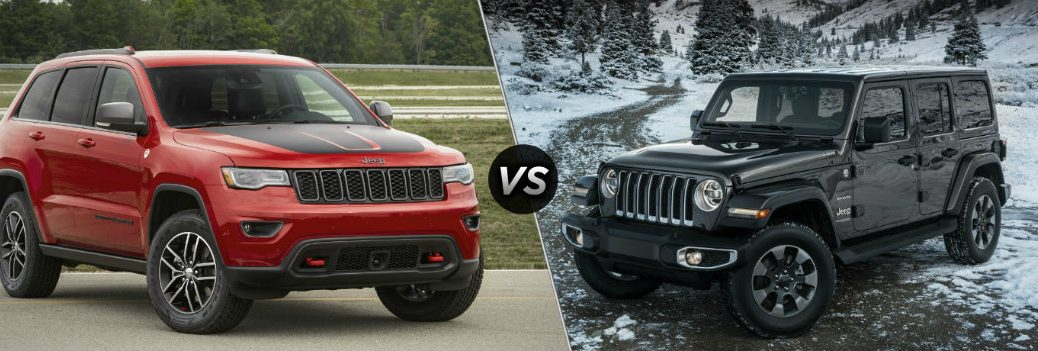 2019 Jeep Grand Cherokee vs 2019 Jeep Wrangler
