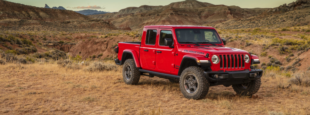 2019 jeep gladiator rubicon towing capacity