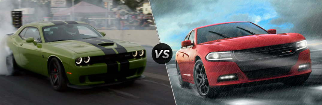 What are the Differences Between the 2019 Dodge Challenger and Charger?