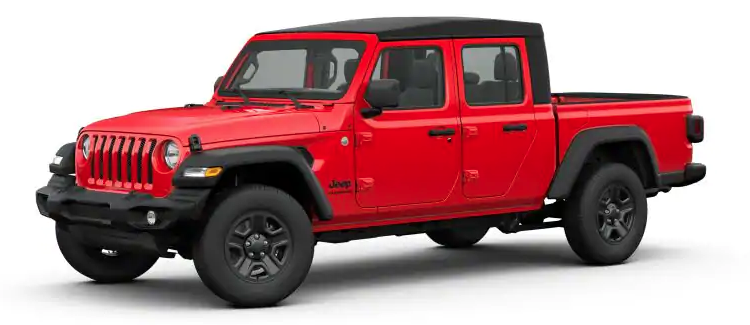 2020 Jeep Gladiator Firecracker Red Clear-Coat