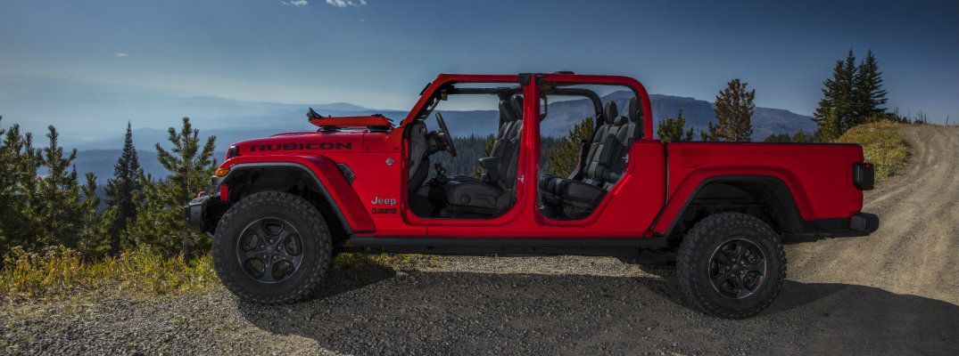 2020 Jeep Gladiator Pickup Truck Trim Level Pricing