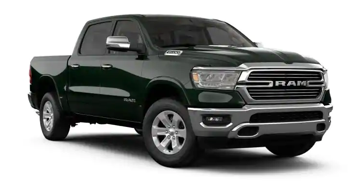 2019 Ram 1500 Black Forest Green Pearl-Coat