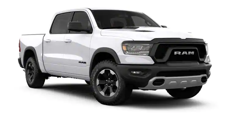 2019 Ram 1500 Bright White Clear-Coat
