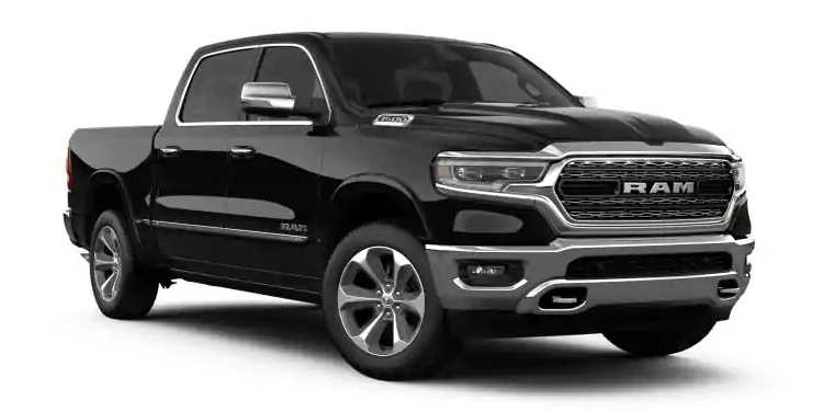2019 Ram 1500 Diamond Black Crystal Pearl-Coat