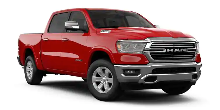 2019 Ram 1500 Flame Red Clear-Coat